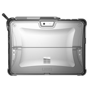 The Urban Armour Gear clear tough case for the Microsoft Surface Go comprises of a protective TPU case with a brushed metal UAG logo insert for an amazing design that complements your Microsoft Surface Go perfectly.