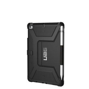 Equip your iPad Mini 2019 with extreme, military-grade protection with the Metropolis Flip case in black from UAG. Impact and water resistant, this is the ideal way of protecting your iPad.