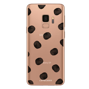 Give your Samsung Galaxy S9 a playful refresh with this polka phone case from LoveCases. Cute but protective, the ultrathin case provides slim fitting and durable protection against life's little accidents.