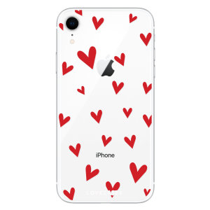 Take your iPhone XR to the next level with this hearts design phone case from LoveCases. Cute but protective, the ultrathin case provides slim fitting and durable protection against life's little accidents.