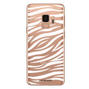 Take your Samsung Galaxy S9 to the wild side with this zebra print phone case from LoveCases. Cute but protective, the ultra-thin case provides slim fitting and durable protection against life's little accidents.