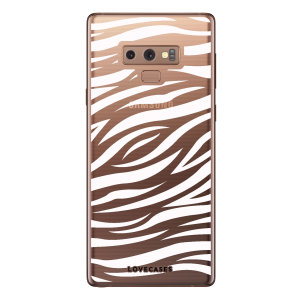 Take your Samsung Galaxy Note 9 to the wild side with this zebra print phone case from LoveCases. Cute but protective, the ultra-thin case provides slim fitting and durable protection against life's little accidents.