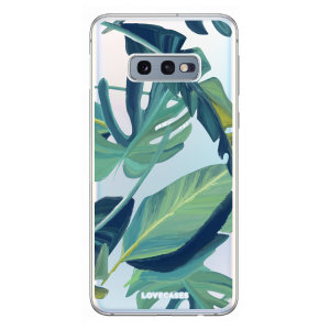 Give your Samsung Galaxy S10e a summer refresh with this tropical palm leaf case from LoveCases. Cute but protective, the ultrathin case provides slim fitting and durable protection against life's little accidents.