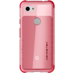 Custom molded for the Covert 3 Google Pixel 3a, Ghostek tough case in pink provides a slim fitting, stylish design and reinforced corner protection against shock damage, keeping your device looking great at all times.