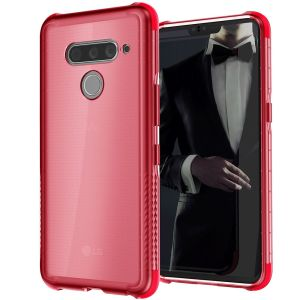 Custom molded for the Covert 3 LG V50 ThinQ, Ghostek tough case in Rose provides a slim fitting, stylish design and reinforced corner protection against shock damage, keeping your device looking great at all times.