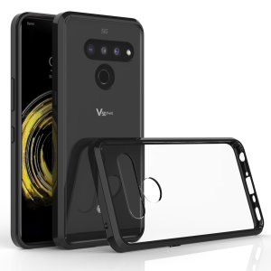 Custom moulded for the LG V50 ThinQ. This black Olixar ExoShield tough case provides a slim fitting stylish design and reinforced corner shock protection against damage, keeping your device looking great at all times.