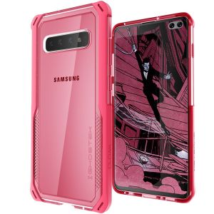 The Cloak 4 Protective case in pink from Ghostek provides your Samsung Galaxy S10 Plus with fantastic all-around protection.