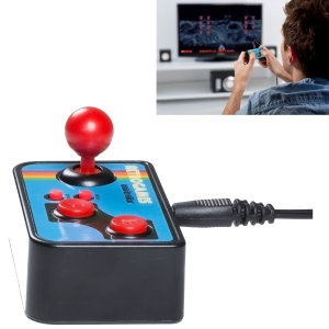 Plug and play your way back to the future with the Retro TV Games Controller. With a retro controller that was adored in the 80s this device plugs into your modern TV allowing you to enjoy the best retro games in today's world. Compact for travel use!