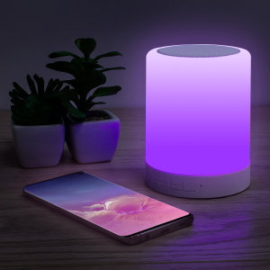 Thumbs UP Wireless Bluetooth Speaker With LED Colour Touch Lamp