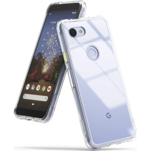 Protect the back and sides of your Google Pixel 3a with this incredibly durable and clear backed Fusion Case by Ringke.
