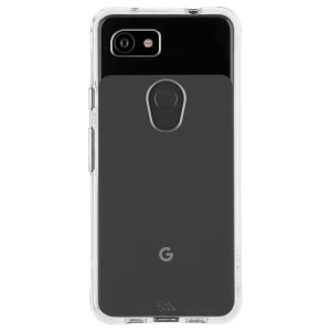 Ultra slim protection for your Google Pixel 3a with the Case-Mate Tough Case in clear. Featuring an all-in-one design and drop tested up to 10 feet, this case provides reliable protection and a minimalist look.