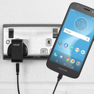 Charge your Motorola Moto E5 Cruise quickly and conveniently with this compatible 2.5A high power charging kit. Featuring mains adapter and USB cable.