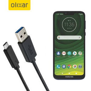 Make sure your Motorola Moto G7 Supra is always fully charged and synced with this compatible USB 3.1 Type-C Male To USB 3.0 Male Cable. You can use this cable with a USB wall charger or through your desktop or laptop.