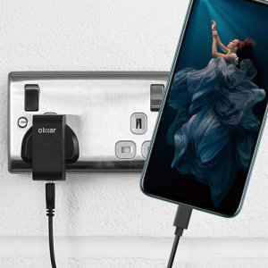 Charge your Honor 20 Pro and any other USB device quickly and conveniently with this compatible 2.5A high power USB-C UK charging kit. Featuring a UK wall adapter and a 1m USB-C cable.