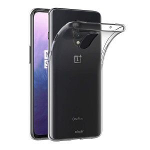 Custom moulded for the OnePlus 7, this clear FlexiShield case from Olixar provides a slim fitting and durable protection against damage, with an alluring crystal clear appearance.