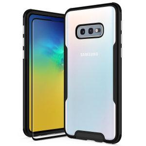 Voici la nouvelle coque Zizo Fuse pour Samsung Galaxy S10e. Dotée d'une superbe finition noire, elle offre non seulement une protection robuste à votre téléphone, mais elle lui assure aussi un look élégant à tout instant. Cette coque a été spécialement conçue pour ajouter un aspect luxueux à votre smartphone. Ce modèle est livré avec une protection d'écran en verre trempé