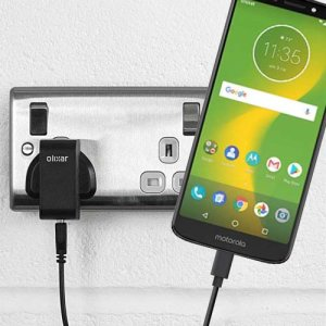 Charge your Motorola Moto E5 Supra and any other USB device quickly and conveniently with this compatible 2.5A high power USB-C UK charging kit. Featuring a UK wall adapter and a 1m USB-C cable.