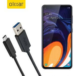 Make sure your Samsung Galaxy A60 is always fully charged and synced with this compatible USB 3.1 Type-C Male To USB 3.0 Male Cable. You can use this cable with a USB wall charger or through your desktop or laptop.