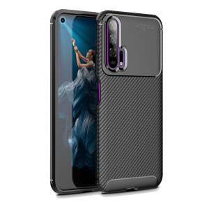 Olixar Carbon Fibre case is a perfect choice for those who need both the looks and protection! A flexible TPU material is paired with an eye-catching carbon print to make sure your Huawei Honor 20 Pro is well-protected and looks good in any setting.