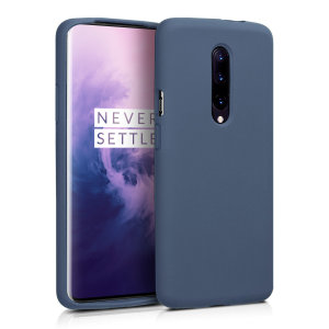 Custom moulded for the Oneplus 7 Pro 5G, this midnight blue soft silicone case from Olixar provides excellent protection against damage as well as a slimline fit for added convenience.