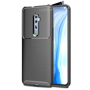 Olixar Carbon Fibre case is a perfect choice for those who need both the looks and protection! A flexible TPU material is paired with an eye-catching carbon print to make sure your Oppo Reno 10x Zoom is well-protected and looks good in any situation.