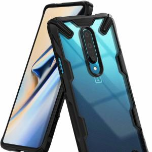Tieni il tuo OnePlus 7 Pro 5G protetto da urti e cadute con la robusta custodia nera Rearth Ringke Fusion X. Caratterizzato da un design in policarbonato in 2 parti, questo case è all'altezza degli standard dei test di caduta militari, in modo da poter essere certi che il dispositivo sia sicuro.