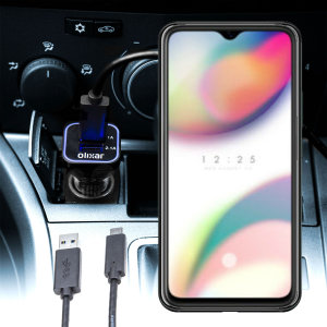 Keep your Oppo Reno Z fully charged on the road with this compatible Olixar high power dual USB 3.1A Car Charger with an included high quality  1m USB to USB-C charging cable.