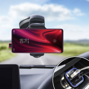 Essential items you need for your smartphone during a car journey all within the Olixar DriveTime In-Car Pack. Featuring a robust one-handed phone car mount and car charger with an additional USB port for your Xiaomi Redmi K20 Pro.