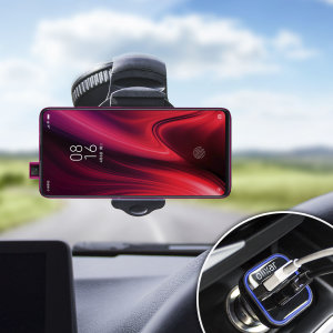 Essential items you need for your smartphone during a car journey all within the Olixar DriveTime In-Car Pack. Featuring a robust one-handed phone car mount and car charger with an additional USB port for your Xiaomi Redmi K20.