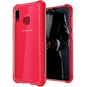 Custom moulded for the Samsung Galaxy A20/A30/A50, the Ghostek tough case in Rosecolour provides a slim fitting, stylish design and reinforced corner protection against shock damage, keeping your Samsung Galaxy A20/A30/A50 looking great at all times.