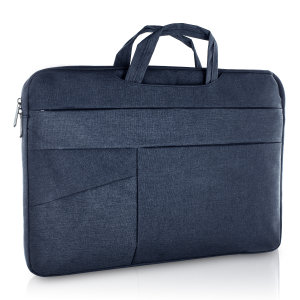 The Olixar universal laptop bag is perfect for holding any 15 inch laptop or Macbook. The bag is slim, water resistant and durable with comfortable carry handles and multiple zip pockets for valuables. The bag also features handles for convenience.