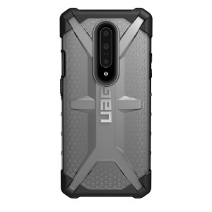 The Urban Armour Gear Plasma for the OnePlus 7 Pro features a protective TPU case in ice Grey with a brushed metal UAG logo insert for an amazing design and excellent protection from scrapes, bumps and scratches.