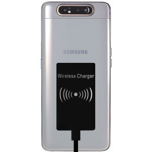 Enable wireless charging for your Samsung Galaxy A80 without having to modify your phone or use a specialist case with this Ultra Thin Qi Wireless Charging Adapter.