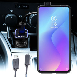 Keep your Xiaomi Mi 9T fully charged on the road with this compatible Olixar high power dual USB 3.1A Car Charger with an included high quality  1m USB to USB-C charging cable.