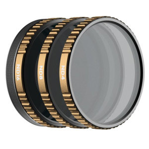 The Shutter 3-Pack includes Neutral Density filters designed to control your shutter speed in several lighting conditions. The HotSwap magnetic filter system replaces the stock UV filter and can be left installed for quick filter adjustments.