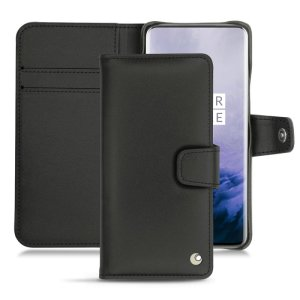 Keep your OnePlus 7 Pro well protected from damage with this high quality, beautifully hand-crafted genuine black leather wallet case from Noreve. The perfect blend of premium style and functionality.