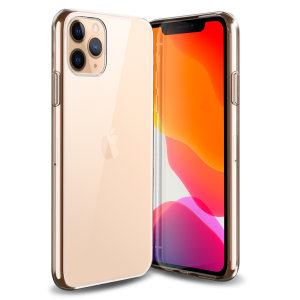 This ultra-thin 100% transparent gel case from Olixar provides a very slim fitting design, which adds no additional bulk to your iPhone 11 Pro Max. Offering durable protection against damage, while revealing the beauty of your phone from within.