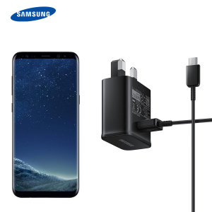 A genuine black Samsung UK adaptive fast mains charger for your Samsung Galaxy A80 smartphone. This is identical to the black charger supplied with the Samsung Galaxy A80 - EP-TA20UBE. Comes complete with an official 1.2m Samsung USB-C cable.
