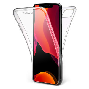 Coque iPhone 11 Pro Olixar FlexiCover intégrale en gel – Transparent