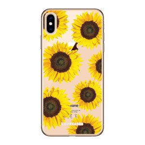 Give your iPhone XS a cute new look with this Sunflower design phone case from LoveCases. Cute but protective, the ultra-thin case provides slim fitting and durable protection against life's little accidents