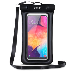 The Olixar Action Waterproof Case for the Samsung Galaxy A50 is a protective case providing 100% waterproofing and touchscreen operation for your iPhone for activities that require near water or even underwater adventures.