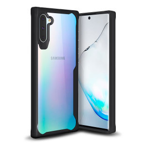 Perfect for Samsung Galaxy Note 10 owners looking to provide exquisite protection that won't compromise Samsung's sleek design, the NovaShield from Olixar combines the perfect level of protection in a sleek black and clear bumper package.