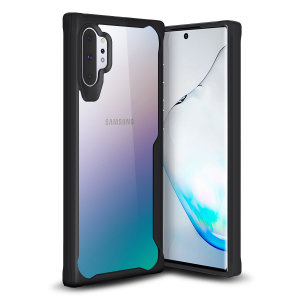 Perfect for Samsung Galaxy Note 10 Plus owners looking to provide exquisite protection that won't compromise Samsung's sleek design, the NovaShield from Olixar combines the perfect level of protection in a sleek black and clear bumper package.