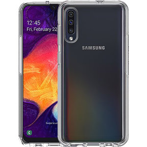 The dual-material construction makes the Symmetry clear case for the Samsung Galaxy A50 one of the slimmest yet most protective cases in its class. The Symmetry series has the style you want with the protection your phone needs.
