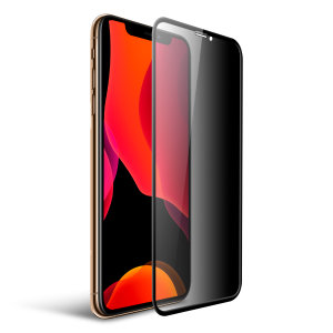 This tempered glass screen protector for the iPhone 11 Pro from Olixar has complete edge to edge screen protection, toughness, high visibility and sensitivity all in one package, with the added bonus of a privacy filter.