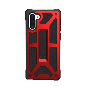 The Urban Armour Gear Monarch in Crimson for the Samsung Galaxy Note 10 is quite possibly the king of protective cases. With 5 layers of premium protection and moulded from the finest materials, your Galaxy Note 10 is safe, secure and remains stylish.