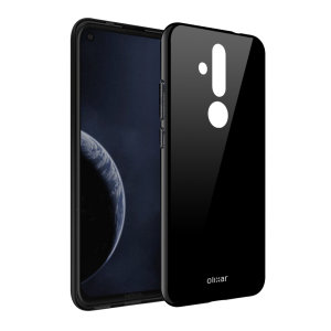 Custom moulded for the Nokia 8.1 Plus, this solid black Olixar FlexiShield case provides a slim fitting stylish design and durable protection against damage, keeping your device looking great at all times.