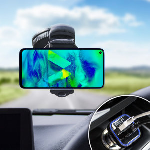 Essential items you need for your smartphone during a car journey all within the Olixar DriveTime In-Car Pack. Featuring a robust one-handed phone car mount and car charger with an additional USB port for your Samsung Galaxy M40.