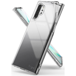 Protect the back and sides of your Samsung Galaxy Note 10 Plus with this incredibly durable and clear backed Air Case by Ringke.