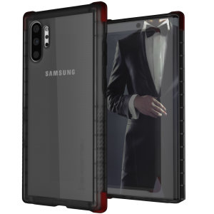 Custom moulded for the Samsung Galaxy Note 10 Plus, the Ghostek tough case in Smoke provides a slim fitting, stylish design and reinforced corner protection against shock damage, keeping your Samsung Galaxy Note 10 Plus looking great at all times.